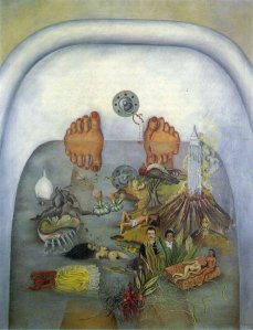 what-the-water-gave-me-1938-frida-kahlo