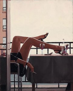 jack vettriano- the temptress