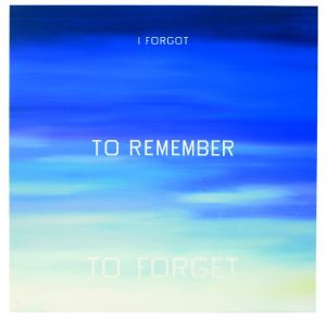 ed ruska- I forgot to remeber to forget- 1984