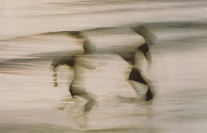 ernst haas-blurred running figures