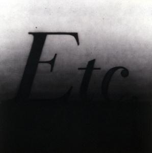 etc- ed ruscha- 1990