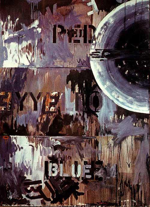 Jasper Johns- Periscope (Hart Crane), 1963