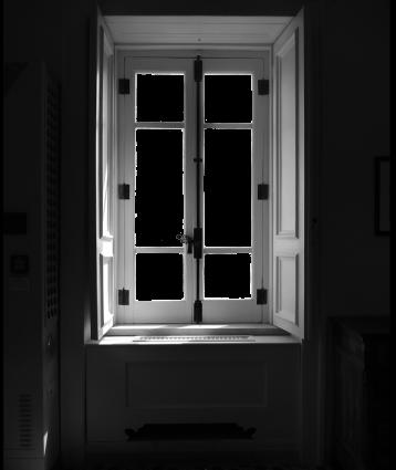 La finestra di un inverno